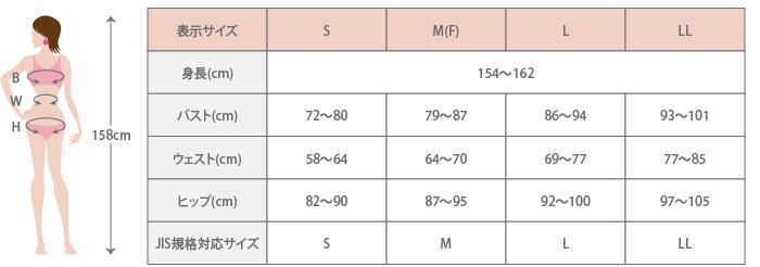 サイズガイド表