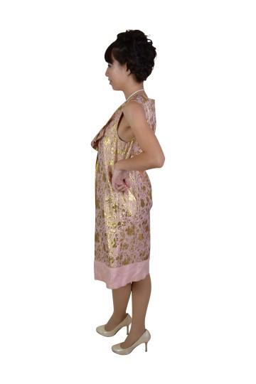 ピンクゴールドドレス