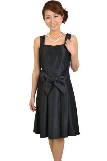 ブラックリボンドレス