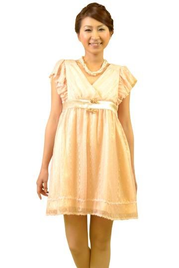 ミニピンクドレス