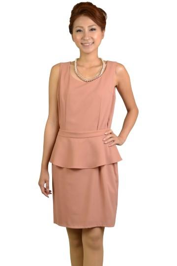 ピンクへプラムドレス