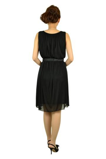 シンプルウエストマークドレス