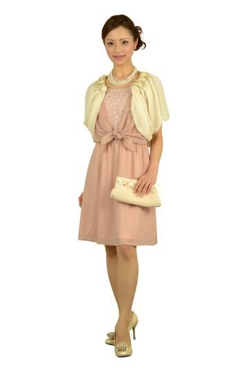 柔らかピンクドレス