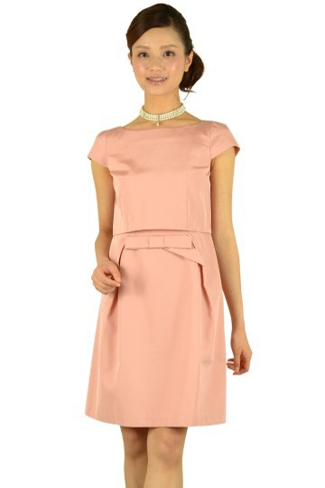 セットアップ風ピンクドレス