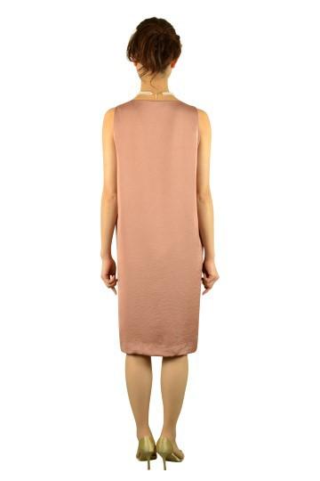 ナチュラルオレンジドレス