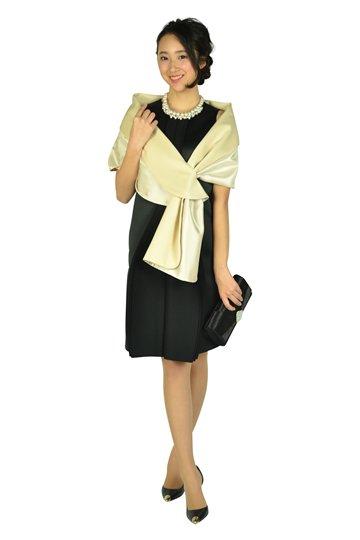 ハイデザインブラックドレス