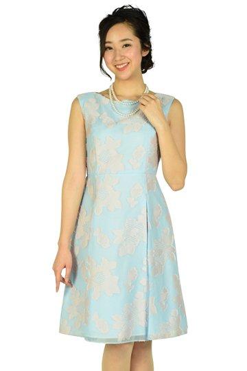 フラワーサックスドレス