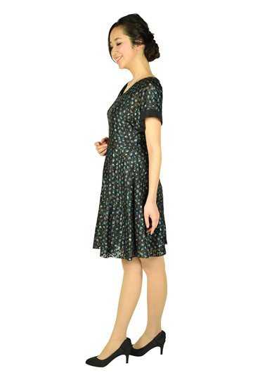 マルチキューブブラックドレス