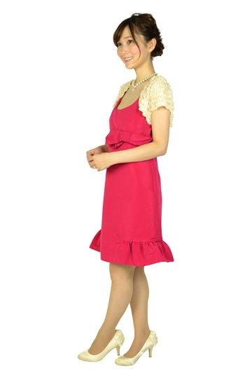 フューシャピンクリボンドレスセット