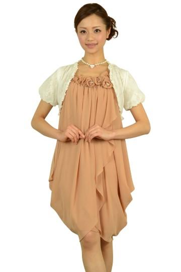 ピンクローズドレスセット