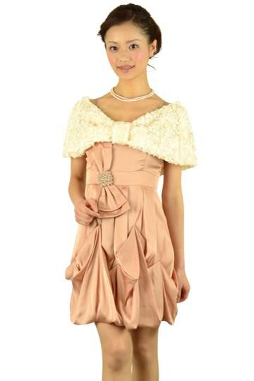 リボン付きピンクドレスセット