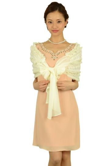 胸元ビジュベビーピンクドレスセット