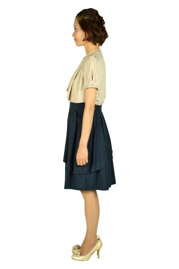 ネイビージャガードドレスセット