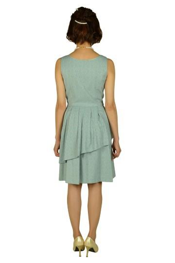 ベビーブルージャガードドレスセット