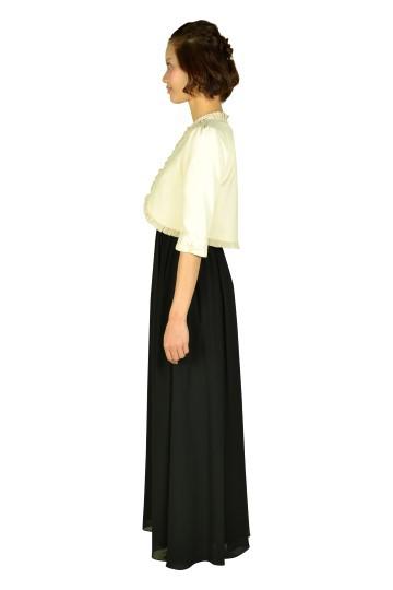 ブラックロングドレスセット