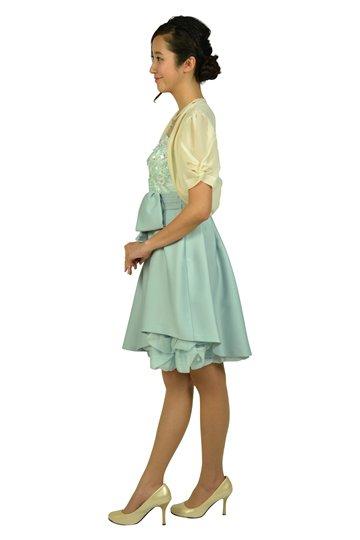 フラワー刺繍ミントドレスセット