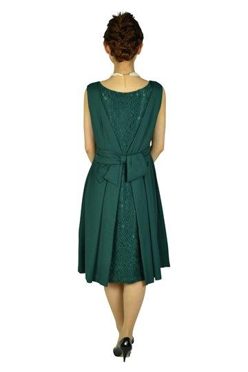シンプルグリーンドレスセット