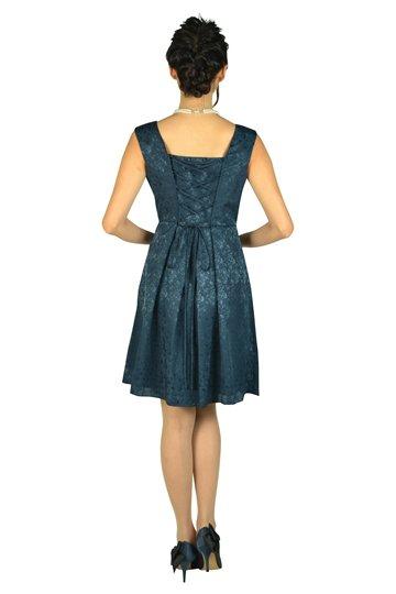 薔薇デザインネイビードレスセット