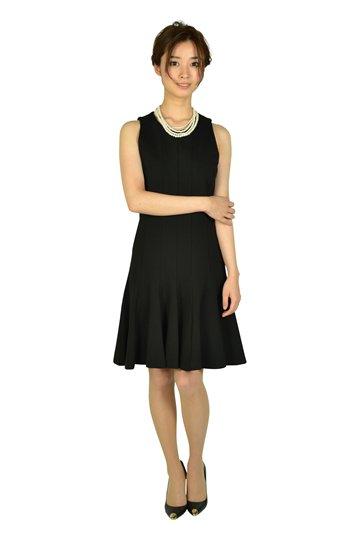 トランペットスカートブラックドレスセット