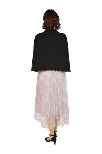 ラメチュールレースモーブピンクドレスセット