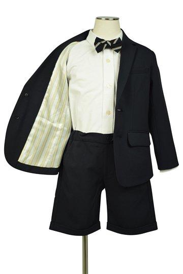 蝶ネクタイ紺ブレスーツセット