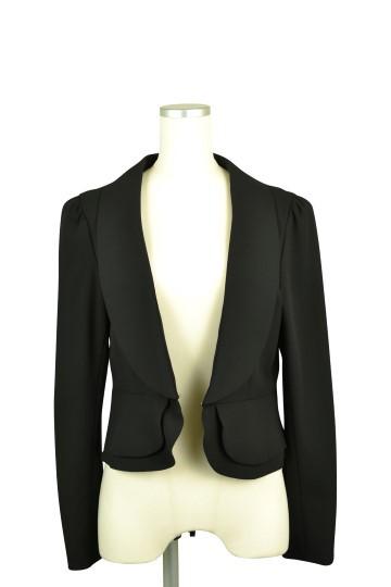 ブラック長袖ジャケット