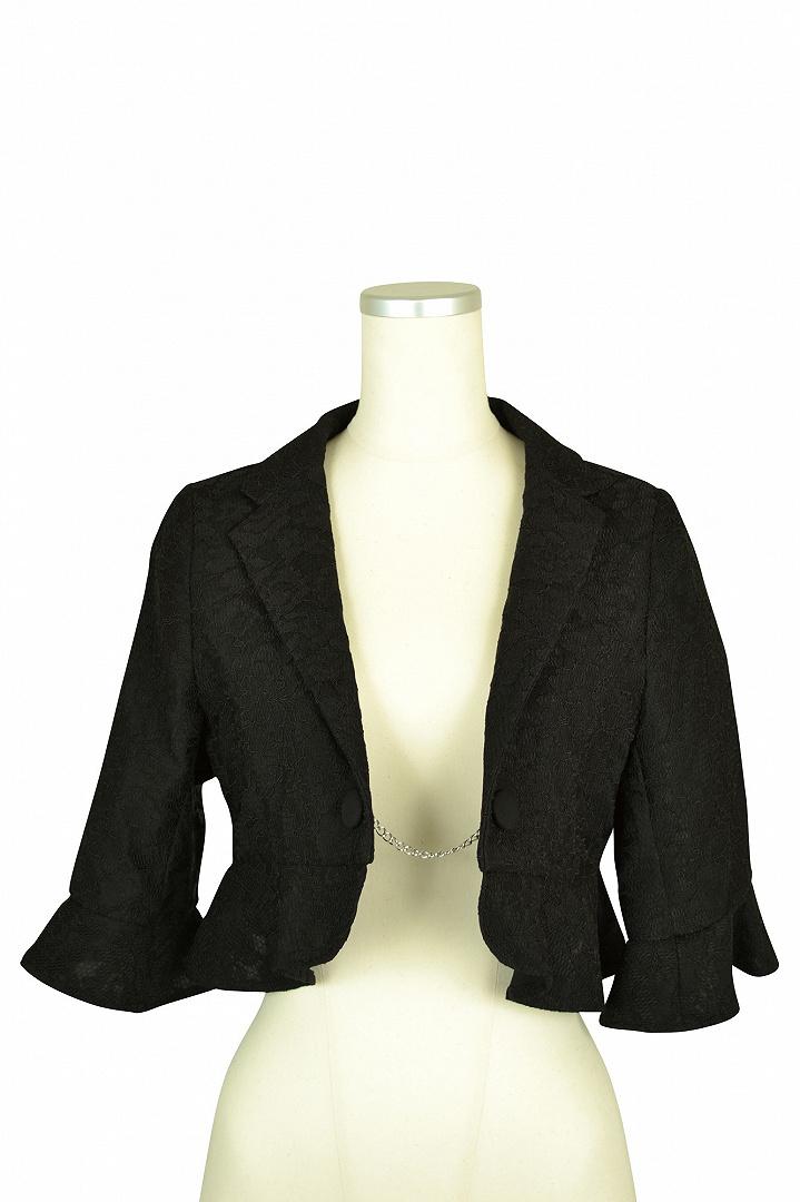 ブラックレースジャケット