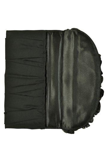 ブラックチュールフラワー袱紗