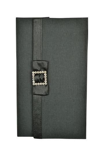 ブラックシンプルクリスタル袱紗