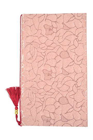 タッセル付き花模様袱紗