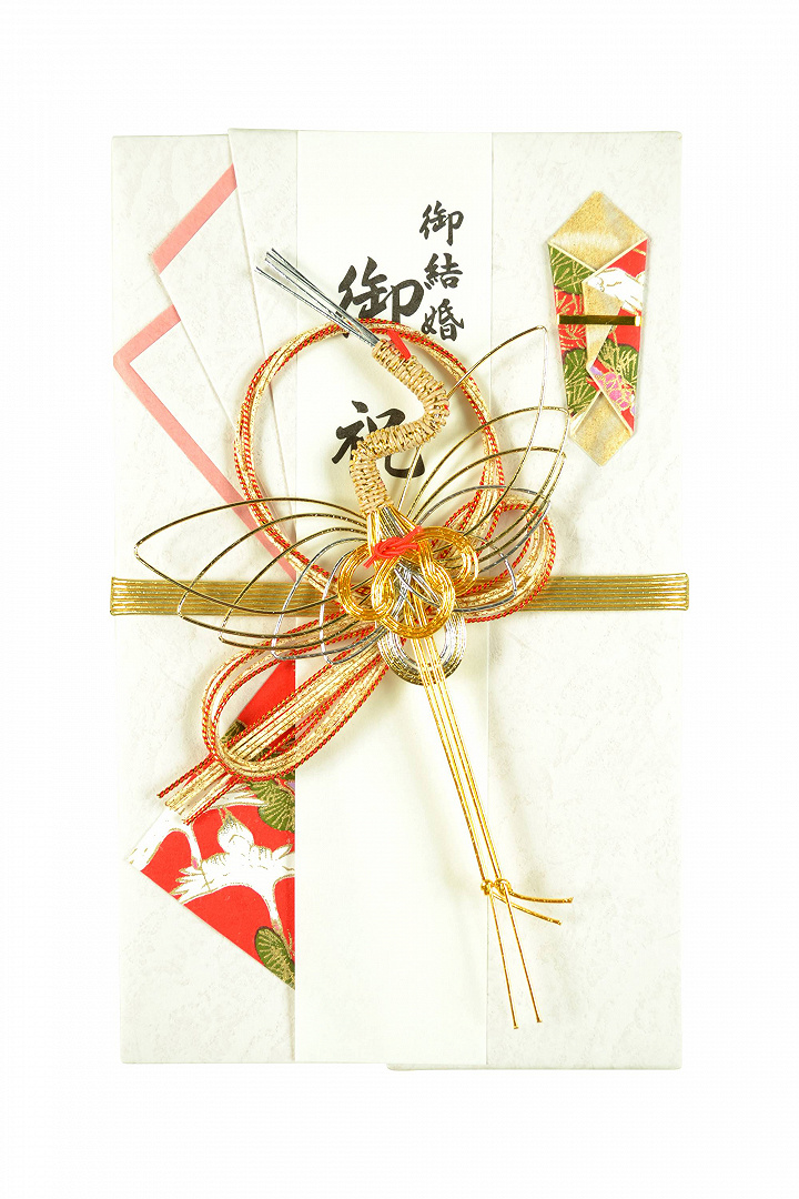 【祝儀袋】金封 伝統定番 鶴モチーフ