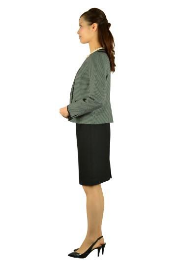 ブラックスカートスーツセット